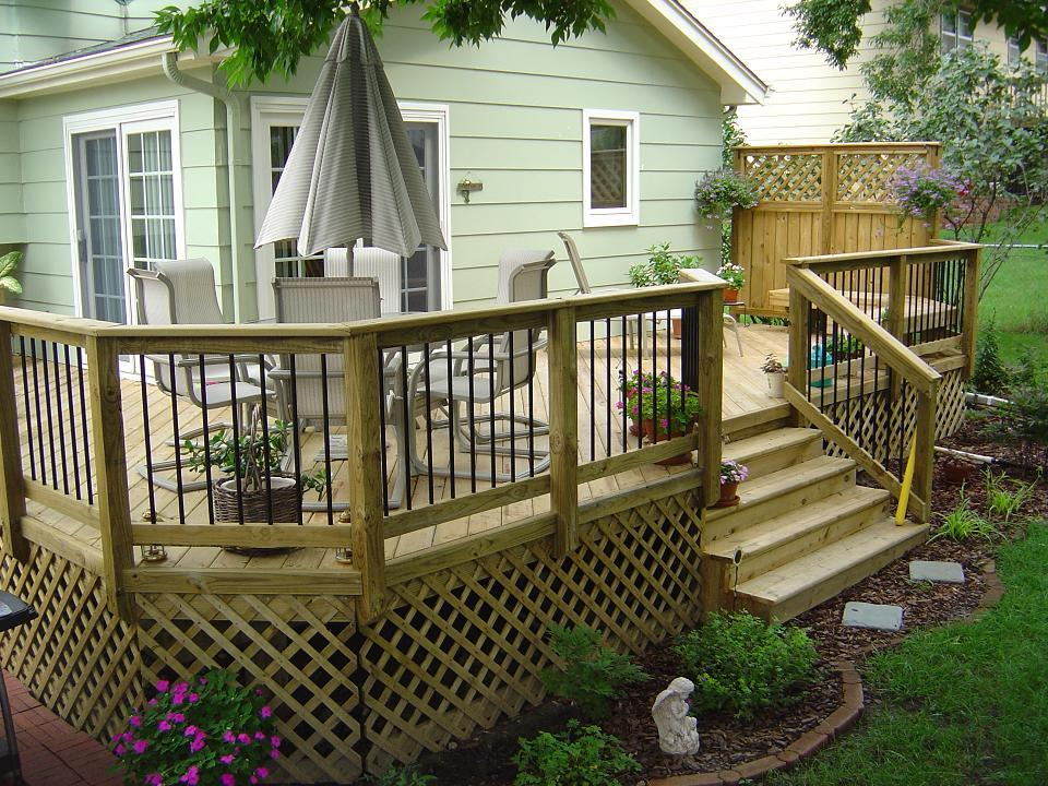 Pressure Treated Decking